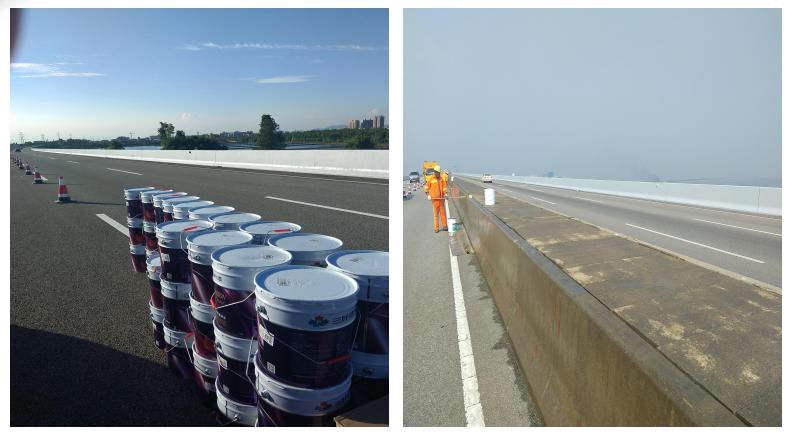 高速路护栏防护