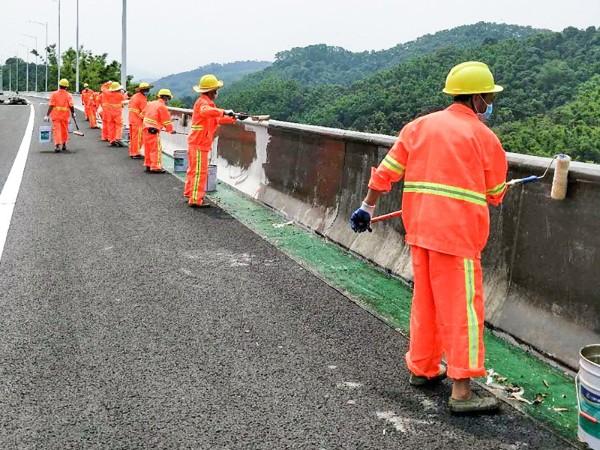 广田路桥防护涂料工程案例集锦