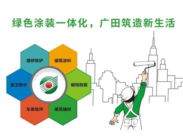 绿色涂装一体化,广田筑造新生活!