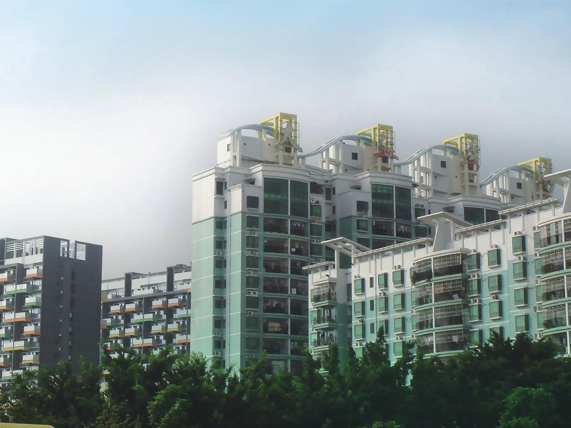 深圳大运会外墙翻新工程