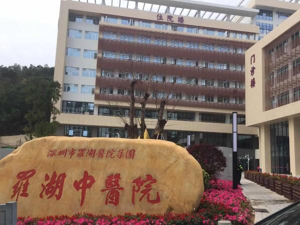 深圳罗湖中医院真石漆项目