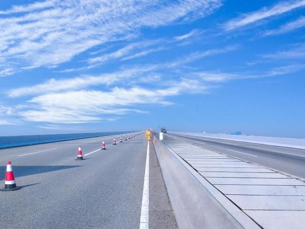 广州南沙港快速路防护氟碳面漆应用案例