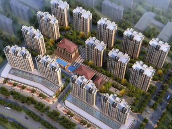 越南北宁归武富贵城--广田涂料出口越南真石漆项目