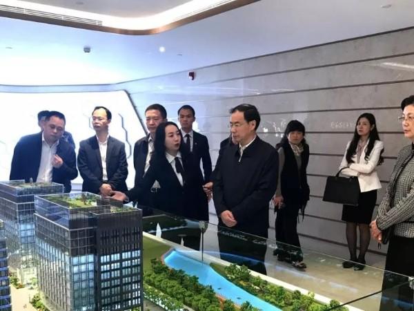 广州市委领导到广田国际调研