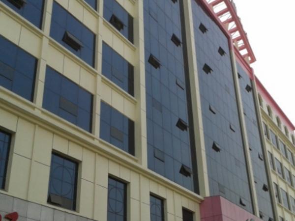 湖北应城计生委综合楼实色氟碳漆工程案例