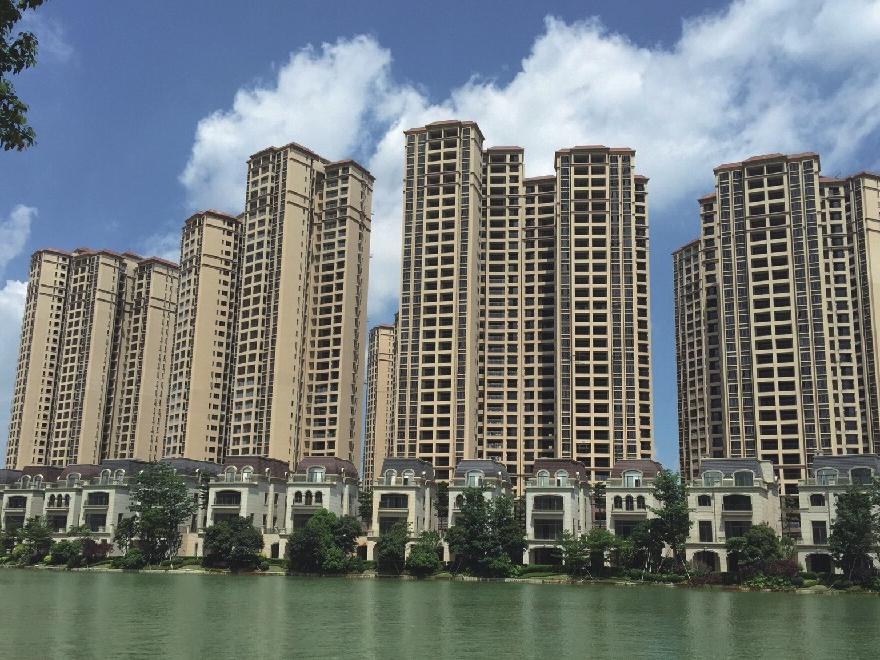 深圳龙光城质感、真石漆项目