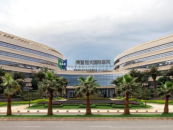 博鳌恒大国际医院应用氟碳漆案例
