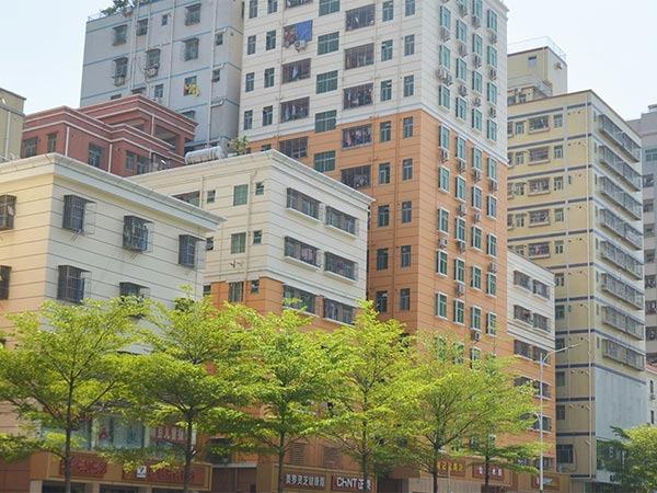 深圳城改民治大道特色商业街改造工程